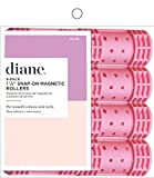 Diane Snap-on Magnetic Rollers, Pink, 1-1/8