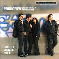 プロコフィエフ:弦楽四重奏曲集(Prokofiev: Quartets Nos 1&2-Visions Fugitives)