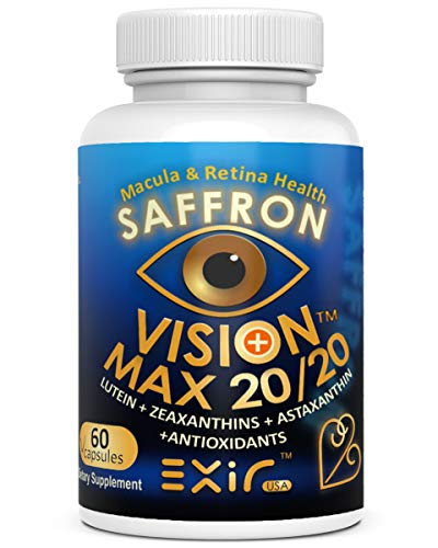 Vision Max 20/20® with Lutein + High Potency Other Carotenoids, Supports Vision Macular Health, 60 Capsules