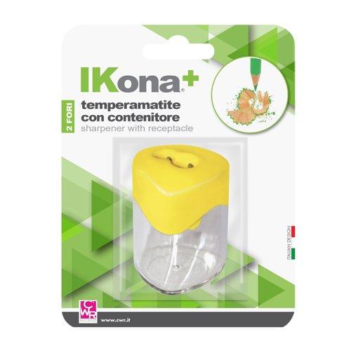Ikona+ 09800 Temperino con Contenitore
