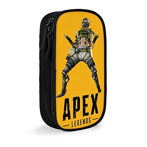 Apex Legends Pencil Case Kids Pen Holder Pouch Teen Large Makeup Bag Purse For Adult & Kid School and Office Supplies Pencase