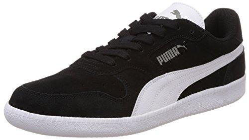 Puma Unisex-Erwachsene Icra Trainer SD Sneakers, Schwarz (black-white), 42 EU