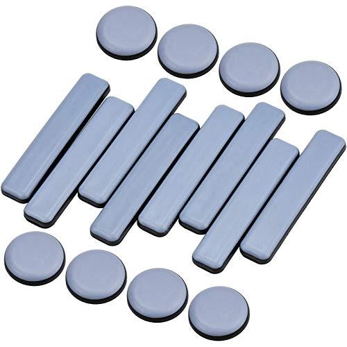 KUPINK 16 PCS Deslizadores Adhesivos Muebles Deslizadores de Muebles Protector Patas Sillas Protectores para Patas de Mesa ⭐