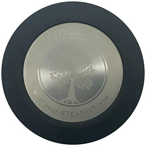 Deksel extra reservedeksel sluiting - past voor amapodo theepot drinkfles theefles van glas met 400 ml