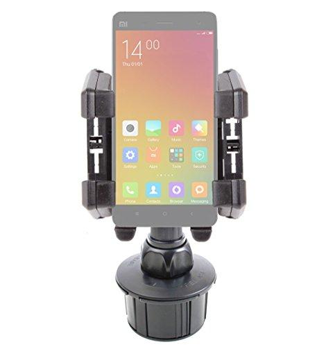 DURAGADGET Soporte para Portavasos del Coche para Xiaomi MI4   MI Note (Pro)   MI 4i   Mi 2a