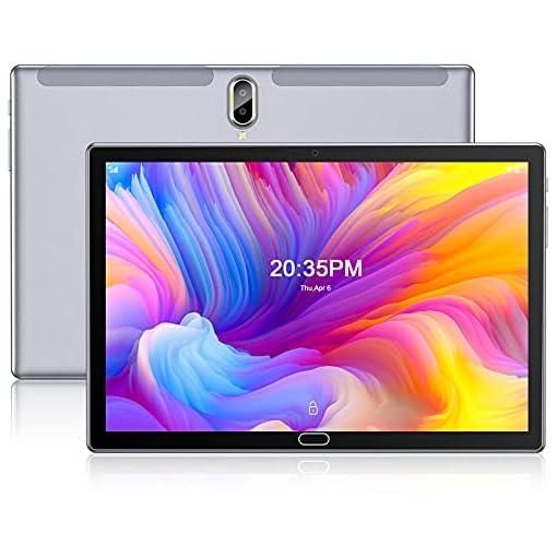 FEONAL Tablet 10 Pulgadas Android 10 4G LTE +WiFi, 4GB RAM+64GB ROM (TF 128GB), Octa-Core, Batería 6000mAh, Tableta con… 1