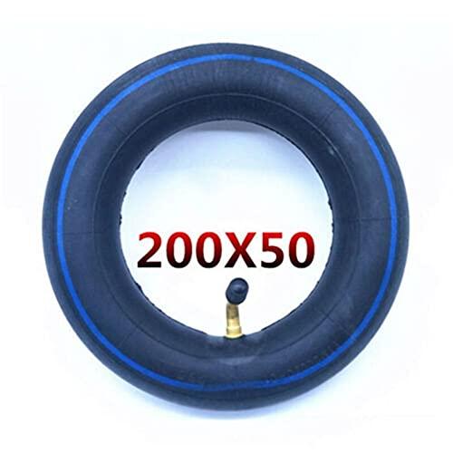 FFLSDR Scooter de Tubo de Goma Azul 200x50 E100 E125 E150 E175 E200 Tubo Interno (Color : Dark Blue)