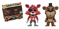 Five Nights At Freddy's Freddy and Pirate Foxy (Double Pack) - Vinyl Figure Collector's figure Standard