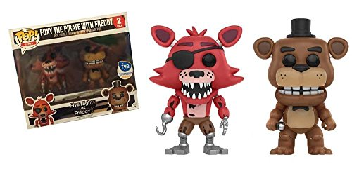 FIVE NIGHTS AT FREDDY'S Figuras Vinilo Foxy The Pirate with Freddy (Doble Pack) Figura de colección Standard