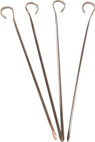 Birambeau 5620 4 Brochettes Inox - 34 cm
