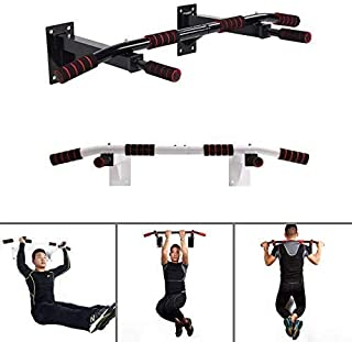 100 pcs Wall Mounted Chin Up Pull Up Bars Home Gym Exercise Bar Chinning Up Wall Bracket Workout