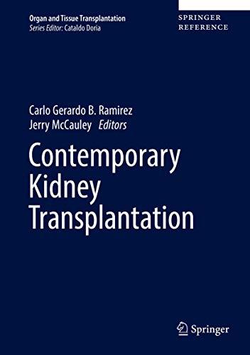 Contemporary Kidney Transplantation (Organ and Tissue Transplantation)