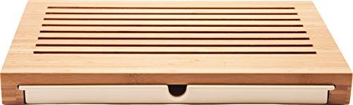 Alessi GAG02 Planche à Pain, Bois, Marron, 42 x 27 x 4,5 cm