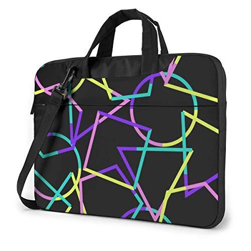 Art (4) Laptop Bag 14 Inch Shoulder Messenger Bag Computer Tote Briefcase for Work School