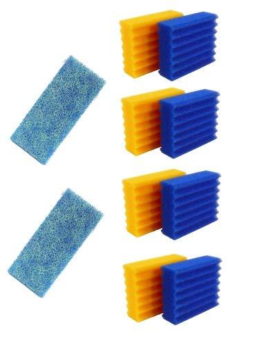 Pondlife Ersatzteil für CBF-Teichfilter - CBF-350B Ersatz-Set Filterschwämme + Japanmatte