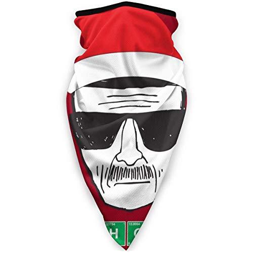 WH-CLA Sombreros,Heisenberg Ho Ho Ho Navidad Breaking Bad,Cuello Pañuelo Protección UV Bandana Unisex Polainas De Cuello para Correr Pesca Ciclismo