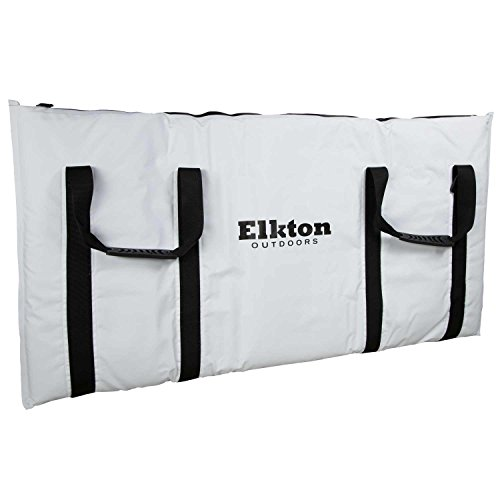 Elkton Insulated Fish Cooler Bag, Large Kill Bag Insulated 40L with Easy Grip Carry Handles and Carry Pack, Perfect Leakproof Monster Fishing Bag for Outdoor Travel