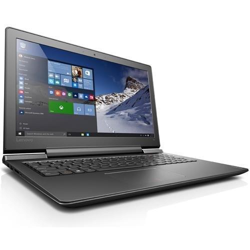"""Lenovo IdeaPad 700 15.6"""" Full HD IPS Notebook Computer, Intel Core i7-6700HQ 2.6 GHz, 16GB RAM, 1TB HDD + 256GB SSD, NVIDIA GeForce GTX950M 4GB, Windows 10 (Certified Refurbished)"""