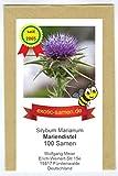 Mariendistel - Silybum marianum - Bienenweide - Zier- und Arzneipflanze - 100 Samen