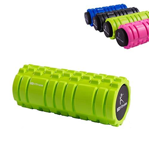 2-en-1 Masaje Terapia Rollo de espuma - Mejor herramienta de masaje - Deportes y estado físico - Eficacia del producto: liberación miofascial, dolor muscular, rigidez reducida,TÜV y RoHS probado