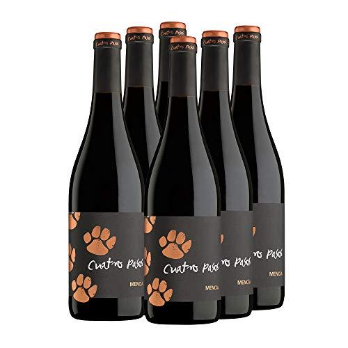 Cuatro Pasos Vino tinto mencía D.O. Bierzo - 6 x 750 ml