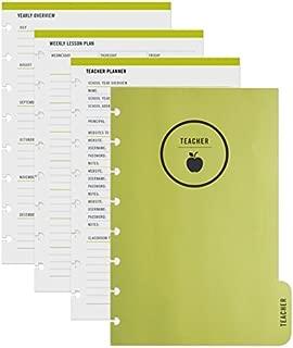 TUL Custom Note-Taking System Discbound Refill Teacher Inserts, 5 1/2