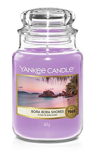 Yankee Candle Duftkerze, Glas, Lila, 623g