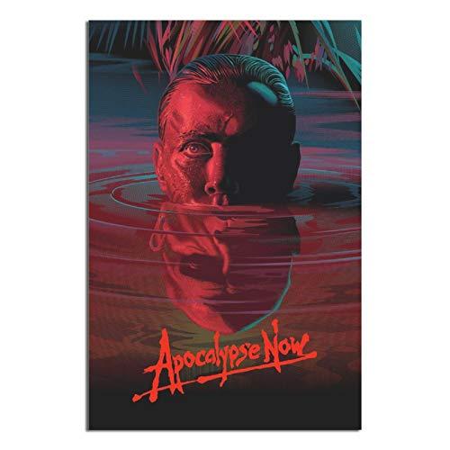 RMBDD Poster vintage classique avec inscription « Apocalypse Now » - Impression sur toile - Décoration murale moderne - Pour bureau, chambre à coucher - Cadeau décoratif