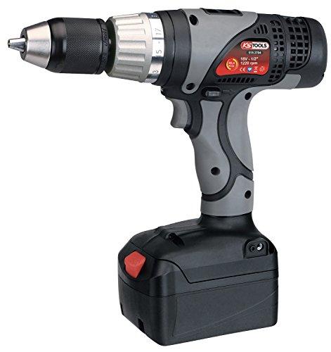 KS Tools 515.3704 - Trapano avvitatore a batteria agli ioni di litio, 45,4 Nm