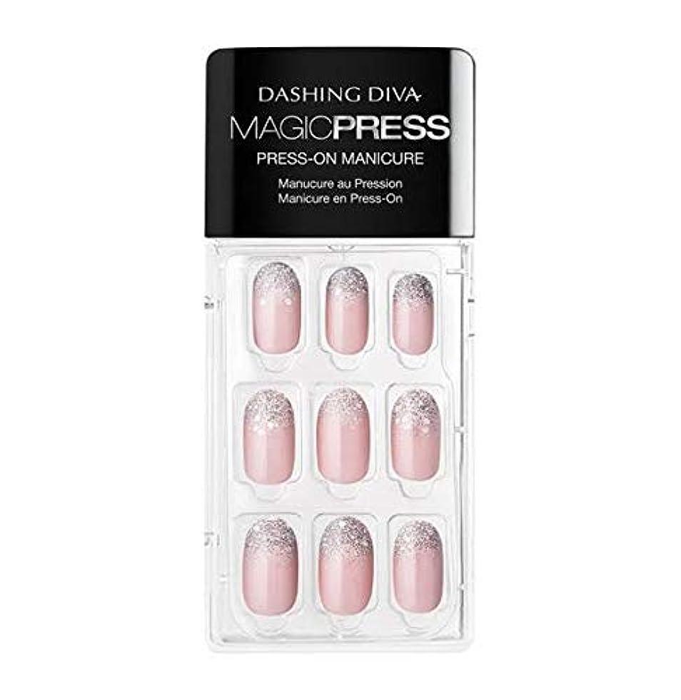 撤退苦難エンドテーブルDashing Diva - Magic Press - Press-On Manicure - Lighten up - 30 Pieces