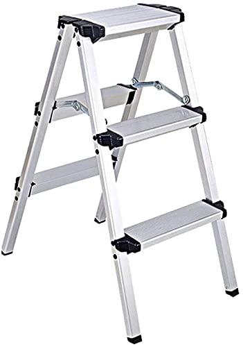NHLBD Mobili semplici - Stepladders Biadesivo, Scala di ristrutturazione della casa Portatile 2 3   4 Step Ladder Sedie Pieghevoli Cucina (Taglia: 37 * 57 * 73 cm) (Size : 37 * 57 * 73cm)