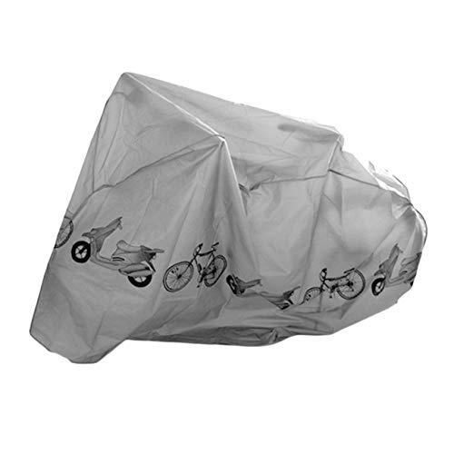 Pudincoco Universal Fahrrad Regen & Staubschutz Abdeckung wasserdichte UV Schutz Abdeckung Fahrrad Zubehör Für Fahrrad Elektrische Motorrad Roller