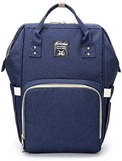 おむつバッグおむつバックパック多機能防水旅行おむつバッグ、ベビーケア、大容量、丈夫でスタイリッシュなお母さんとお父さんのためのバッグ