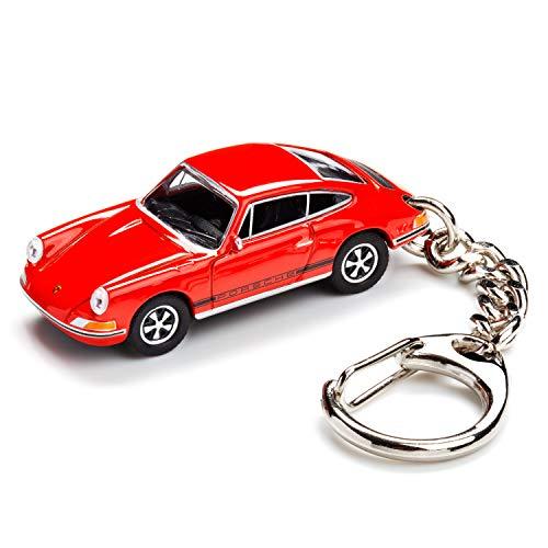 corpus delicti :: Schlüsselanhänger mit Porsche 911 S blutorange Modellauto für alle Auto- und Oldtimerfans (20.9-41)