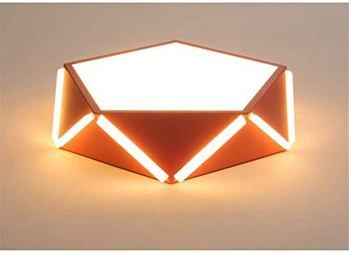 BOSSLV Lampes Murales de Lavage Lampes Lumières Spotlights Éclairage 50X10Cm Géométrie Design Plafonniers Métal Acrylique Corps Macarons Plafonnier Monté Lampe Foyer