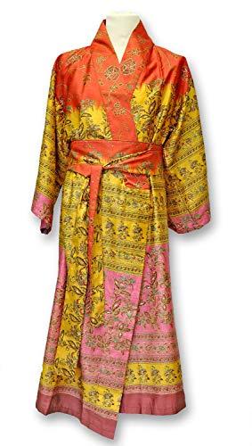Bassetti MONTEFANO Kimono, Baumwolle, ROT, S-M