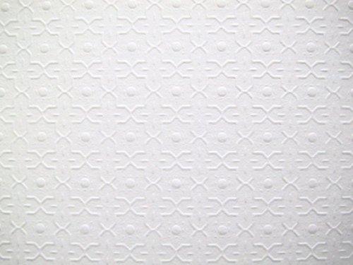 Melody Jane Puppenhaus Geprägt Decken Papier Miniatur Dado Druck 1:24 Maßstab Tapete
