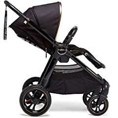 Carrycot and car seat compatible - works from birth and for years to come, flexible, practical for modern life Lie flat and adjustable seat - suitable from birth, lasts for years, child will always be comfortable 5 point harness with chest pads - kee...
