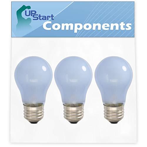 3-Pack 241555401 Refrigerator Light Bulb Replacement for Frigidaire FFTR18D2QW5A Refrigerator - Compatible with Frigidaire 241555401 Light Bulb