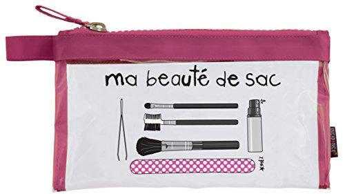 Incidence Paris 31701 Kit Krystal Ma beauté de sac Trousse et accessoires , 22 cm, Rose