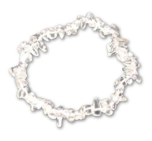 Taddart Minerals Bergkristall Splitter Armband