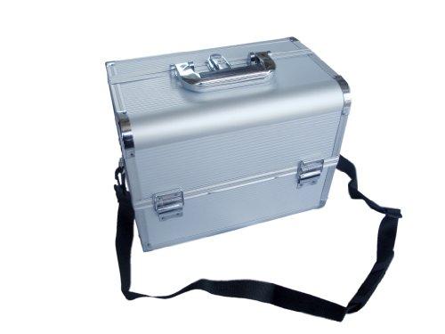 Domus ACS04 Bauletto in Alluminio, Porta attrezzi e porta oggetti, Argento