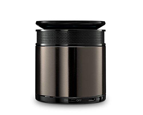 Rapoo A3060 Bluetooth Mini Lautsprecher (Freisprechfunktion, intelligente Sprachausgabe) schwarz