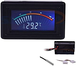 LCD Display Digital Thermometer, NCElec -58F ~ +230F/ -50°C ~ +110°C Waterproof Thermometer Hygrometer with Probe for Temperature Testing for Aquarium, Refrigerator, Cars, Pet Habitats, Etc.