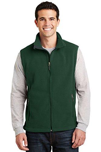 Port Authority Value Fleece Vest, Forest Green, XXX-Large