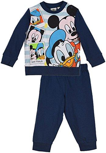 Disney Baby Micky Maus Schlafanzug Blau 12 Monate