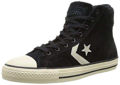 Converse Star Player Suede Hi, Sneaker Unisex-Adulto, Nero (Schwarz (8 Noir/Ecru), 36 EU