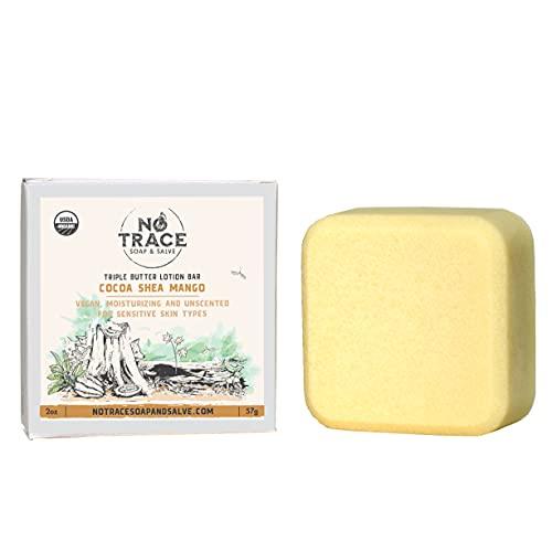 Triple Butter Lotion Bar USDA Certified Organic. Eco Friendly Plastic...
