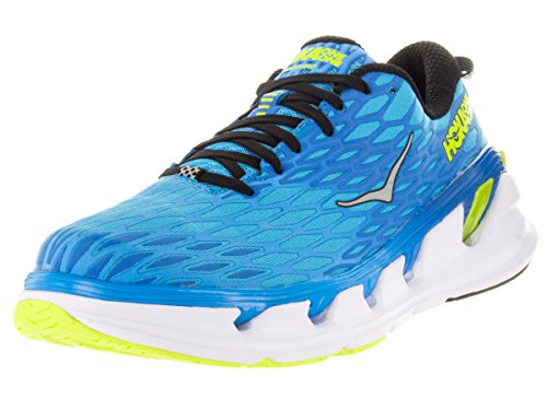 Hoka One One Vanquish 2 Running Sneaker Shoe - Blue Graphite/Acid - Mens - 10.5