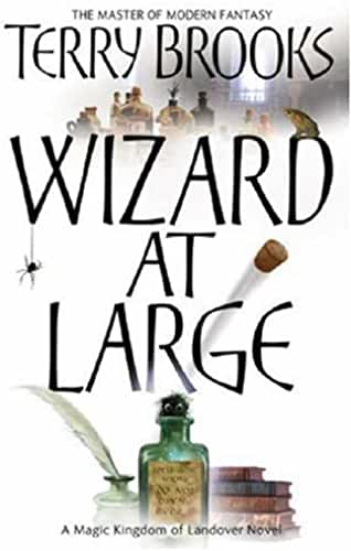 Wizard At Large: Magic Kingdom of Landover Series: Book 03 by Terry Brooks (2007-05-14)